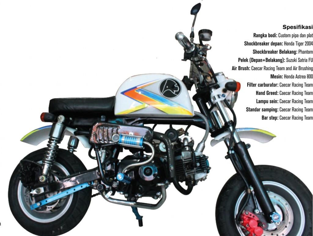 Modifikasi Mesin Motor Honda Astrea Grand Modif Men