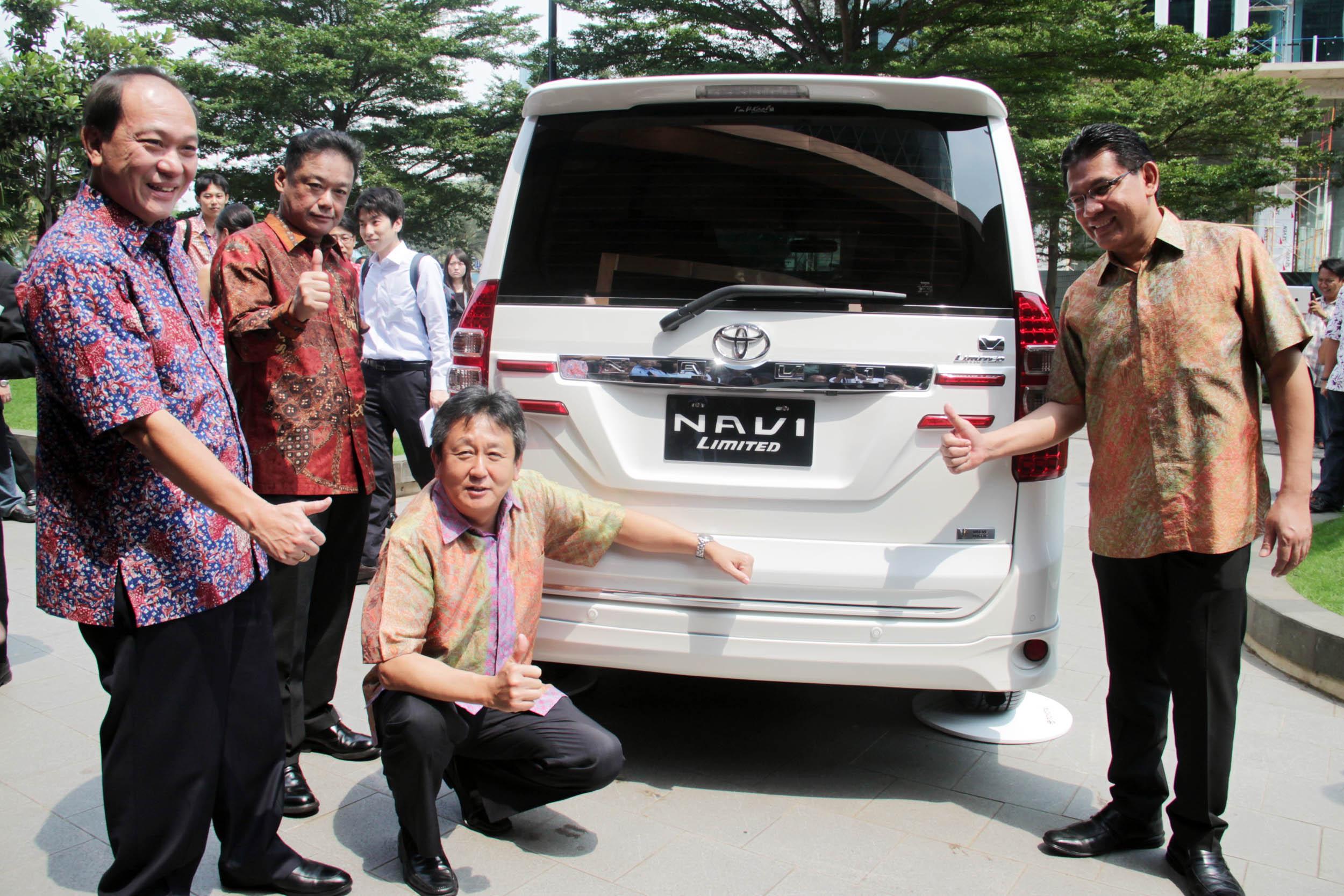 Perubahan Besar Toyota Nav1 Hanya Hadir Di Varian V Limited