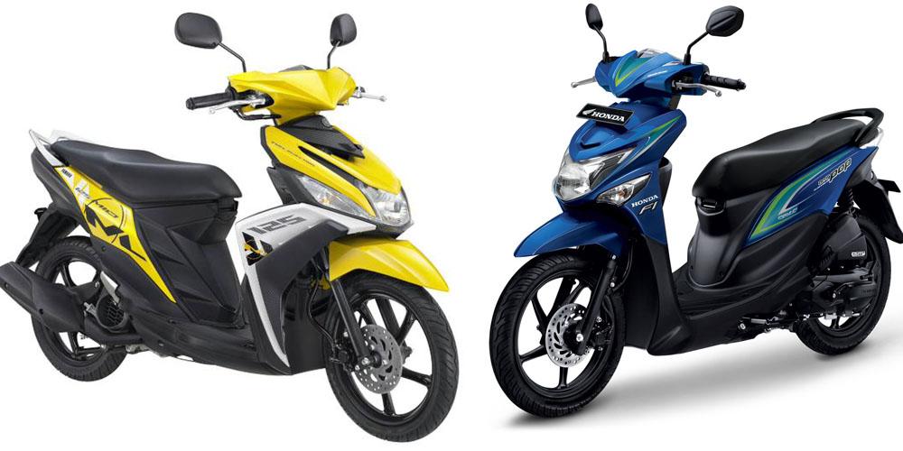 Yamaha Mio M3 dan Honda Beat ESP