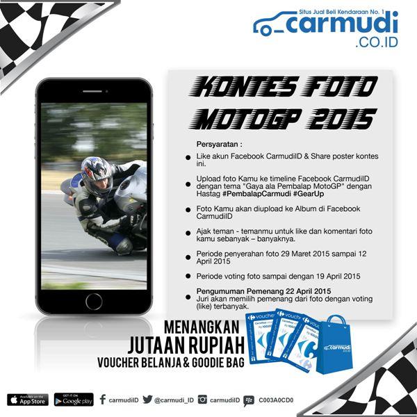 Flyer Kontes Foto MotoGP 2015 Carmudi