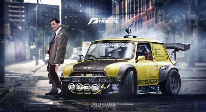 Ketika Mobil Mungil Mr Bean Jadi Mobil Balap Keren Carmudi Indonesia