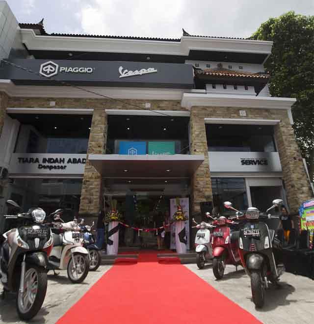 Usung Konsep Motoplex, Piaggio Indonesia Buka Penyalur