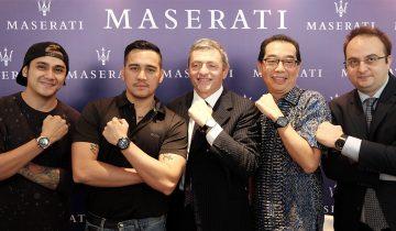 Peluncuruan Maserati Watches di Grand Indonesia