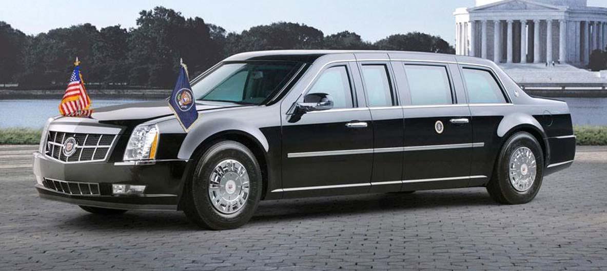 Kendaraan kepresidenan Amerika Obama