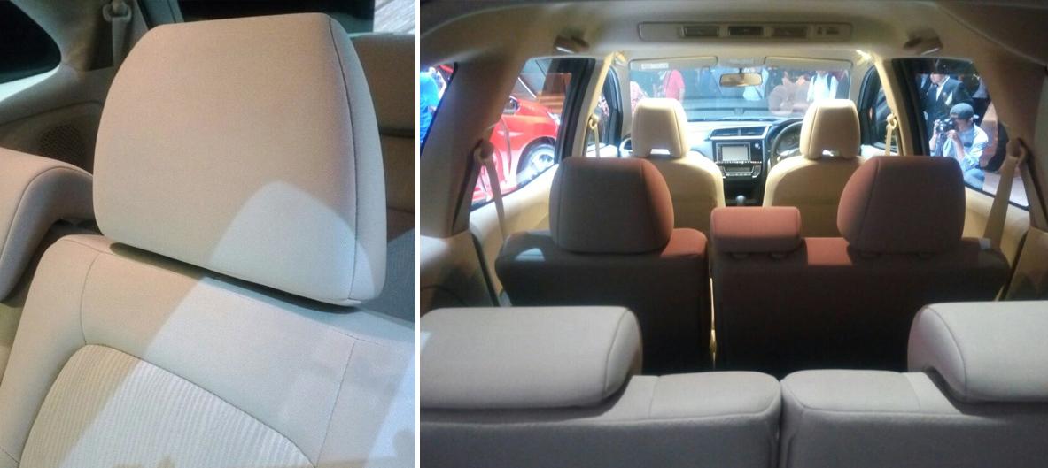 Interior Honda Mobilio 2017