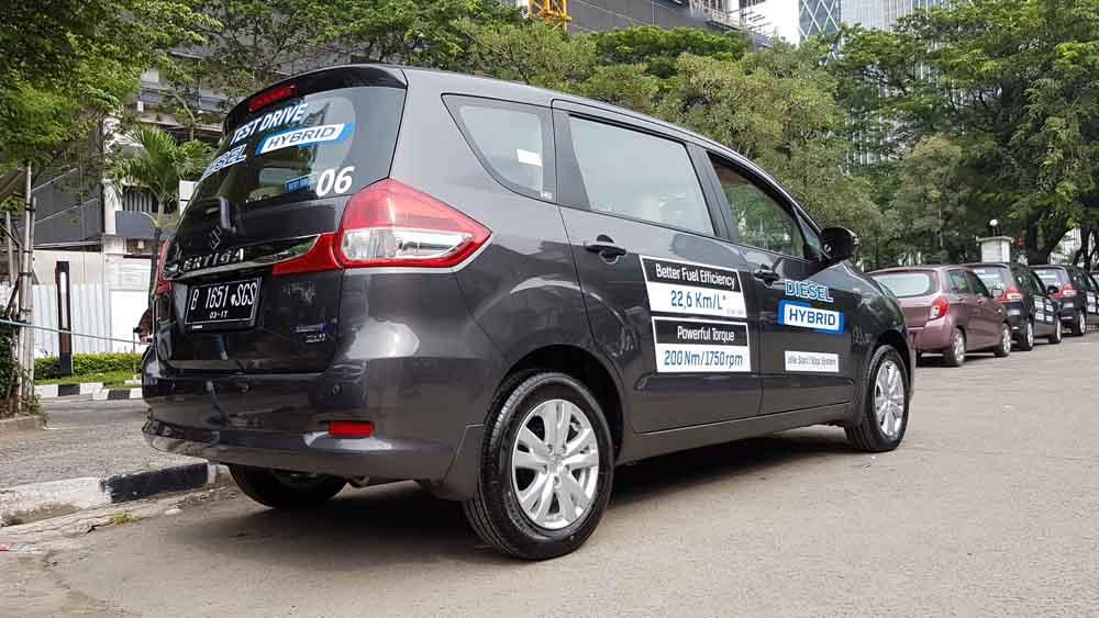Suzuki New Ertiga cara memilih oli mobil diesel