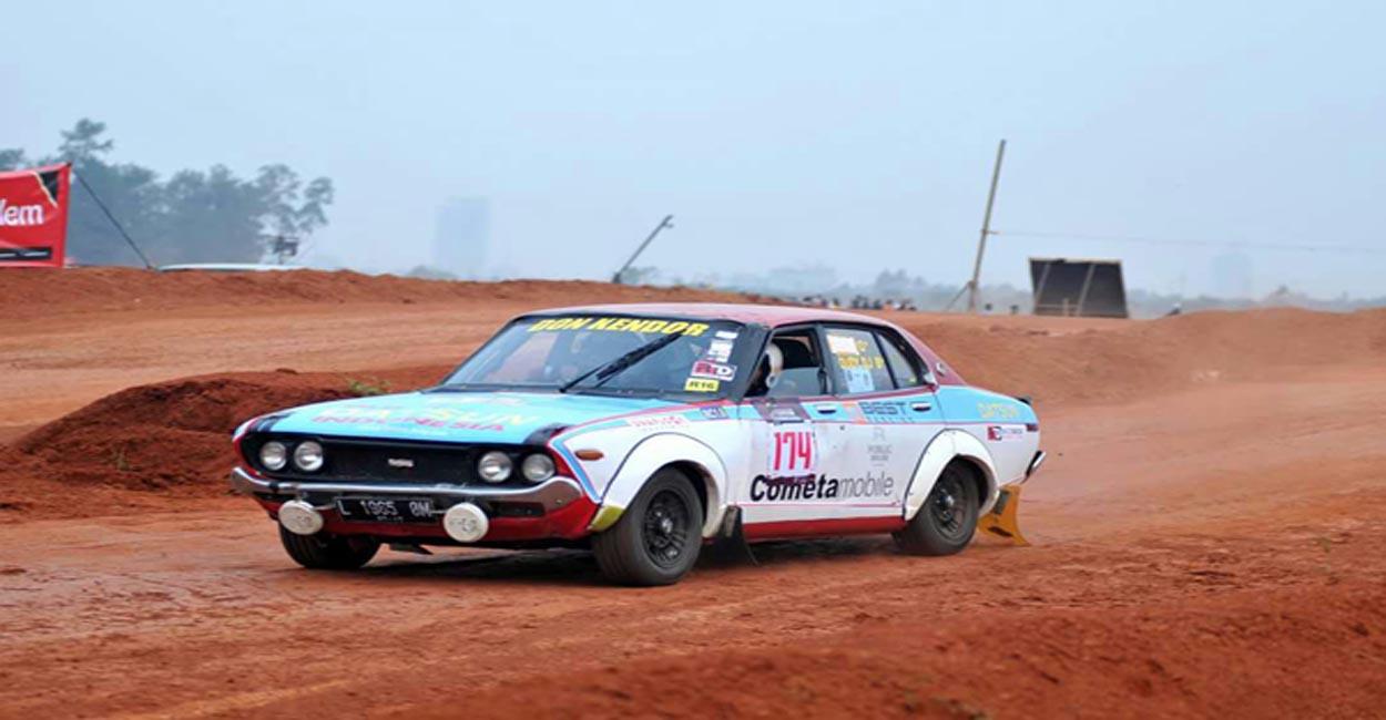Modifikasi datsun rally 510 1972