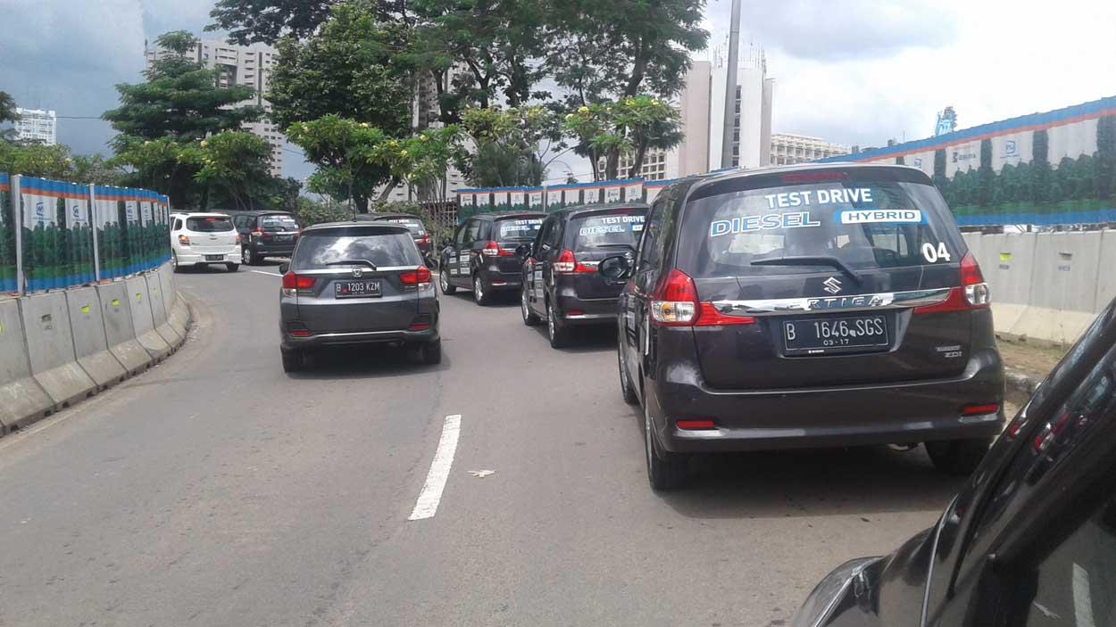 Suzuki New Ertiga Diesel Hybrid