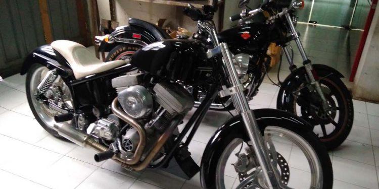 Motor Koleksi dari Bimo Motor Custom.Foto/Carmudi Indonesia/Ben