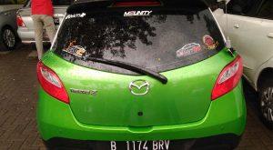 Mazda 2 Keluaran Tahun 2012 pemakaian 2013.Foto/Carmudi Indonesia/Ben