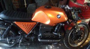 Motor hasil modifikasi dari Trive Motorcycles.Foto/Carmudi Indonesia/Ben