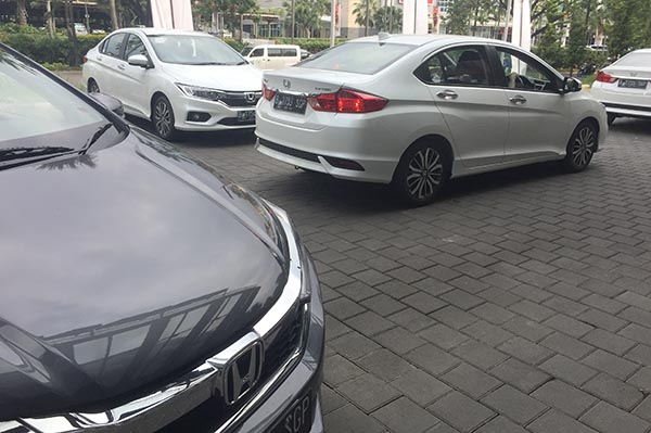 Test New Honda City