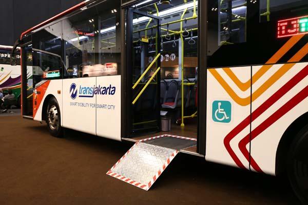 serah terima bus