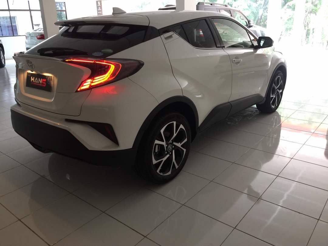 Penampakan Toyota C HR Untuk Indonesia Seperti Apa
