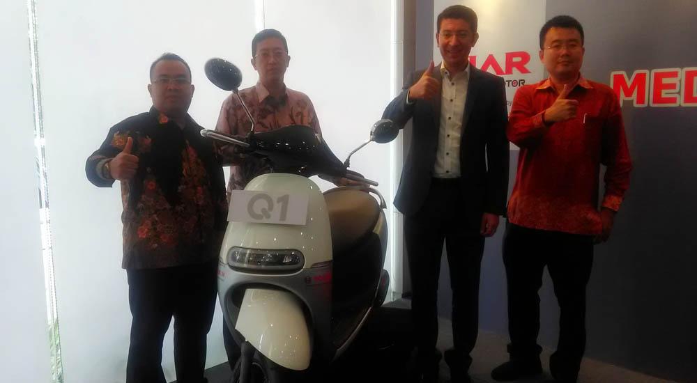 skuter listrik q1