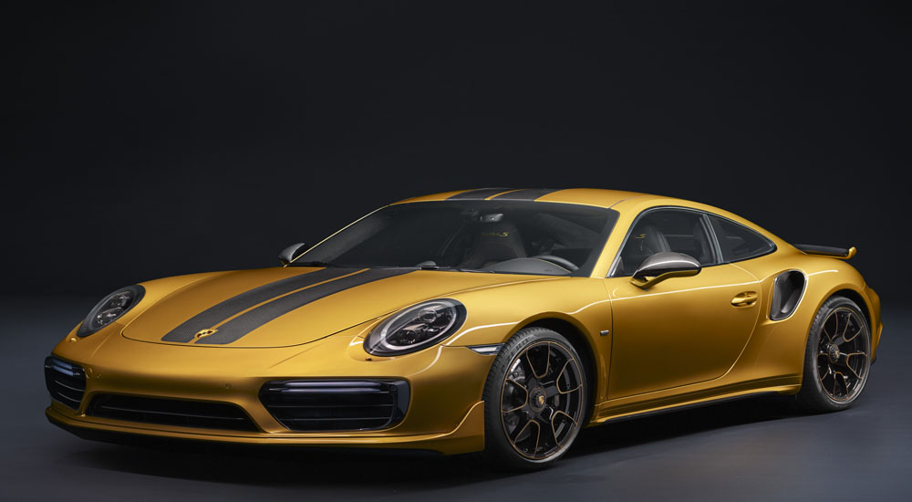 Porsche 911 Turbo S seri Eksklusif