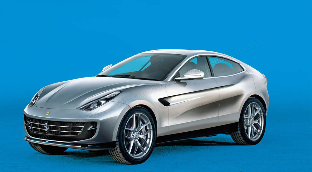 SUV pertama Ferrari