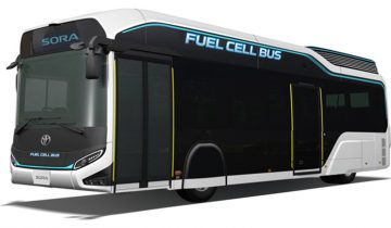 Bus Listrik Toyota Sora