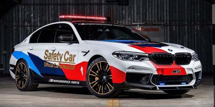 BMW seri M5 Versi Safety Car MotoGP 2018 Lebih Garang  - Carmudi Indonesia