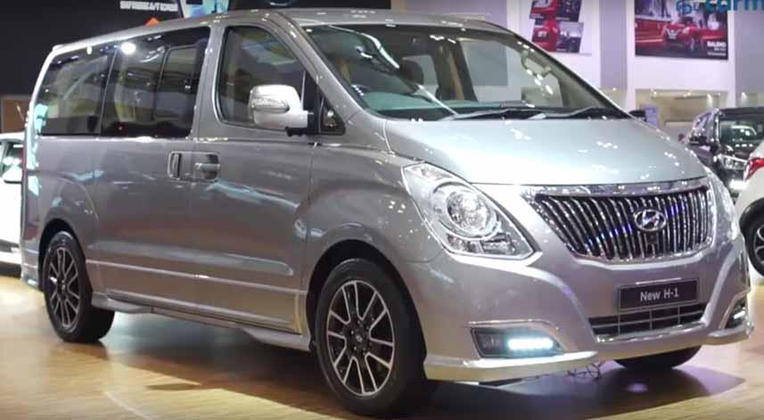 Tak Mau Kalah dengan Alphard, Hyundai H1 Makin Bersolek