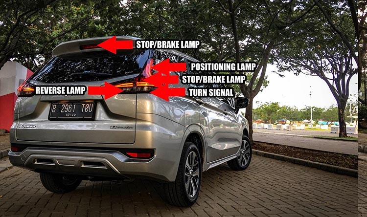 Lampu Mitsubishi Xpander
