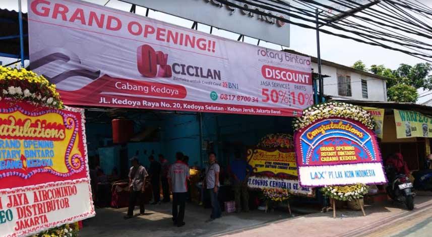 Buka Cabang Baru Rotary Bintaro Bengkel Ac Mobil Berikan Diskon 50