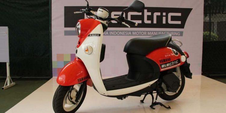 Yamaha Indonesia Uji Coba Skuter Elektrik Mirip Fino