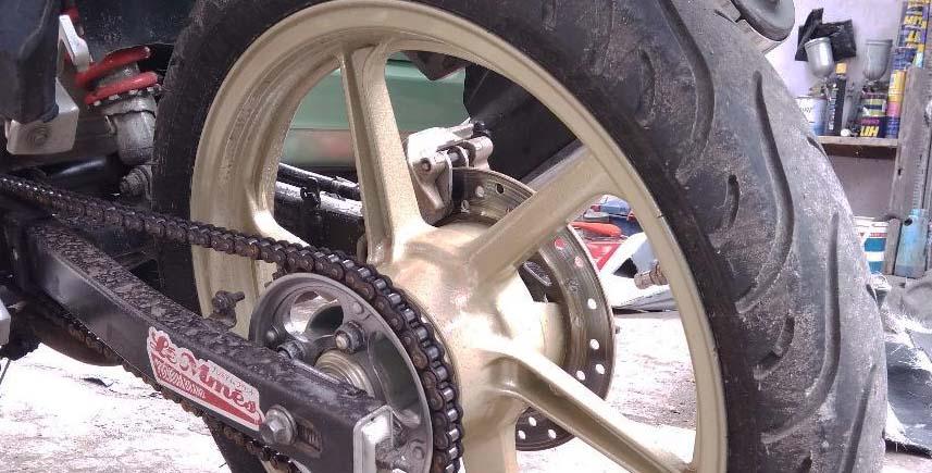 Cara Gampang Ngecat Sendiri Velg Racing Sepeda Motor