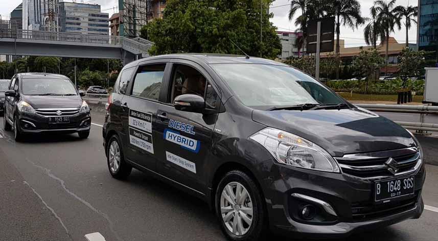Suzuki Ertiga Diesel Hybrid