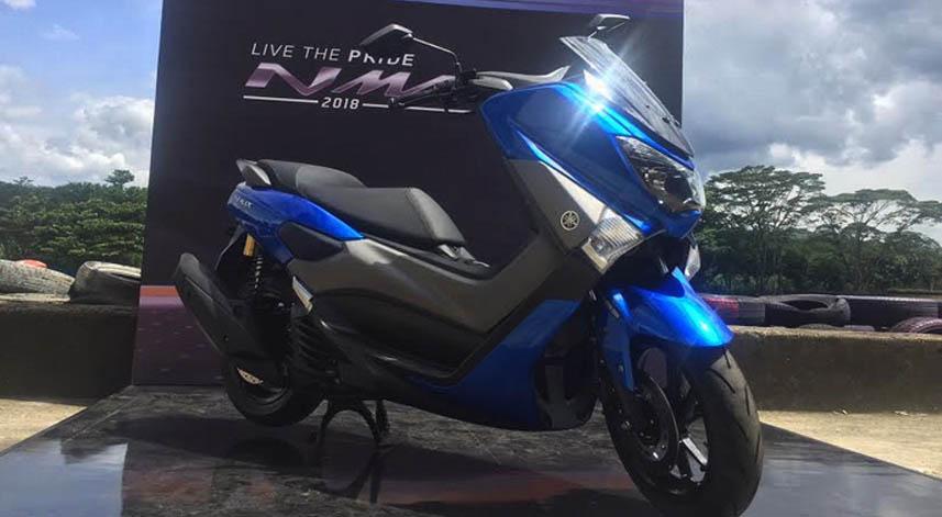 Ini Beberapa Perubahan Yang Dilakukan Yamaha Untuk Nmax 2018
