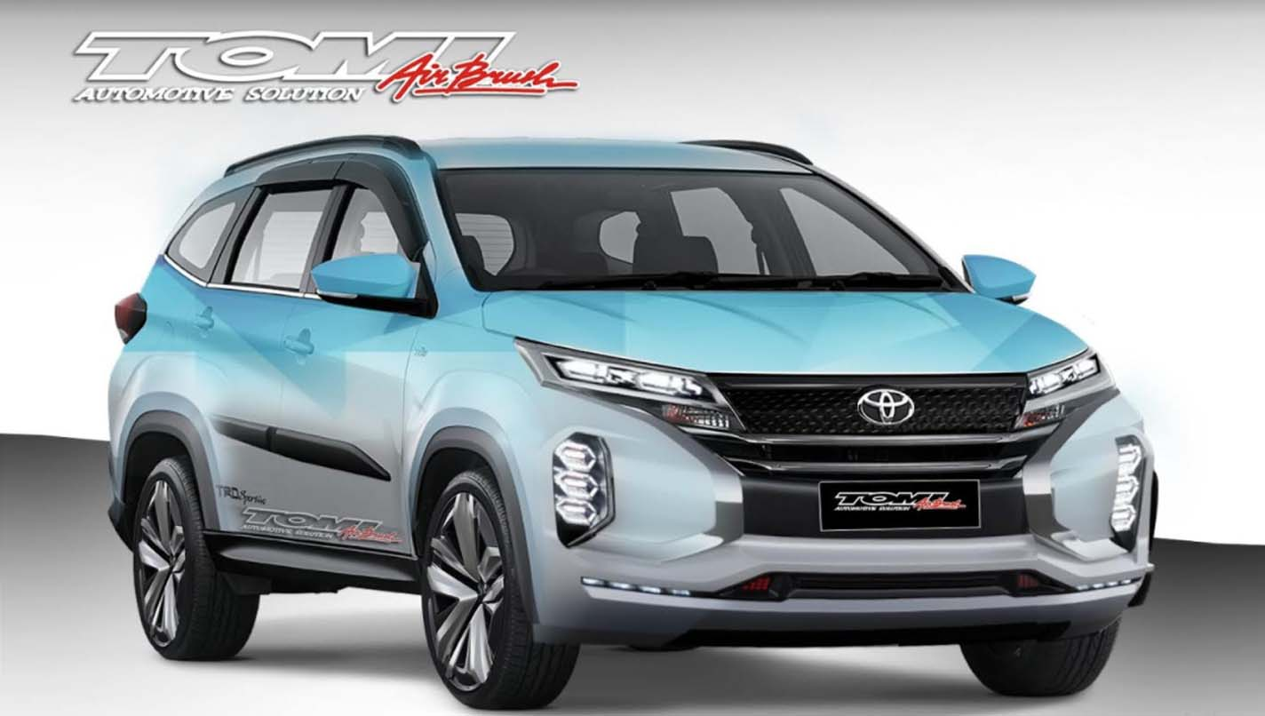 Mobil New Rush >> Toyota All New Rush Versi Modifikasi, Aura Sporty Makin Kental