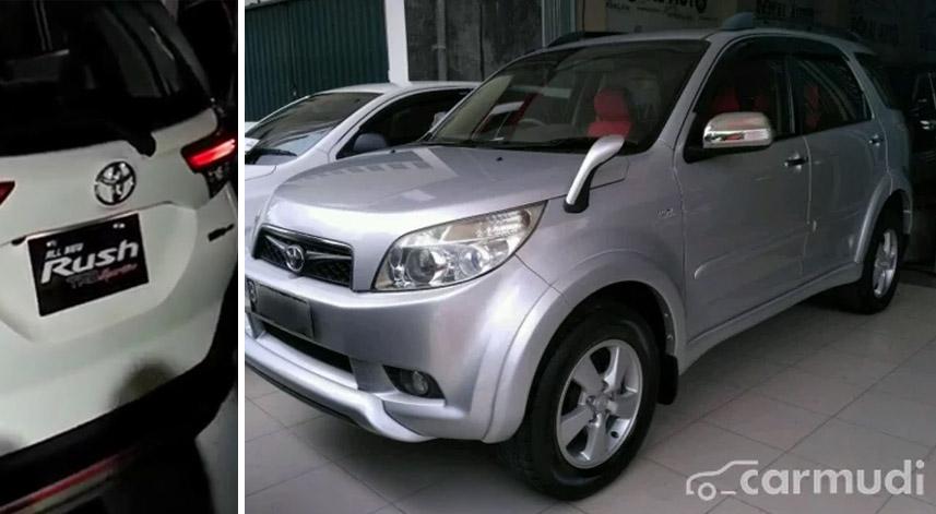 Muncul Model Baru Harga Bekas Toyota Rush Dan Daihatsu