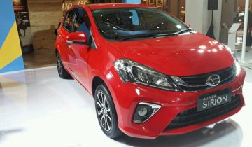 All New Daihatsu Sirion