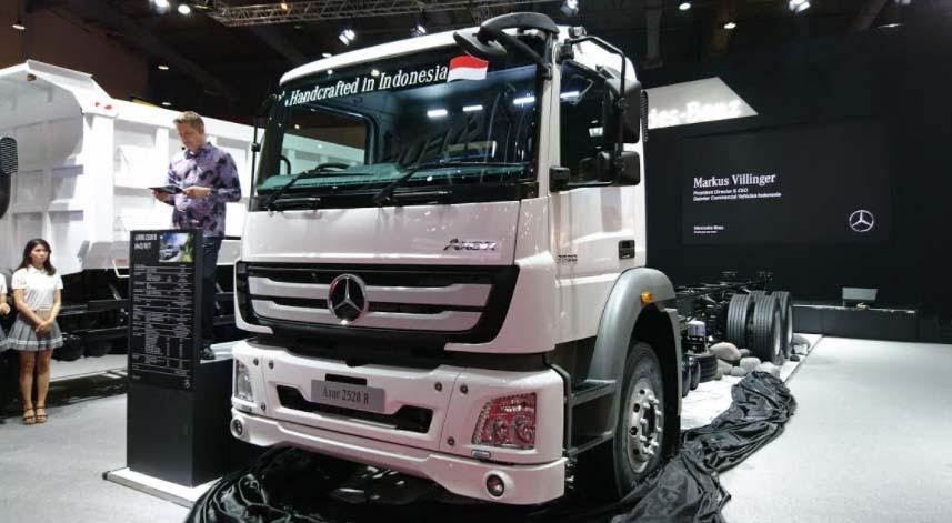 Mercedes Truk