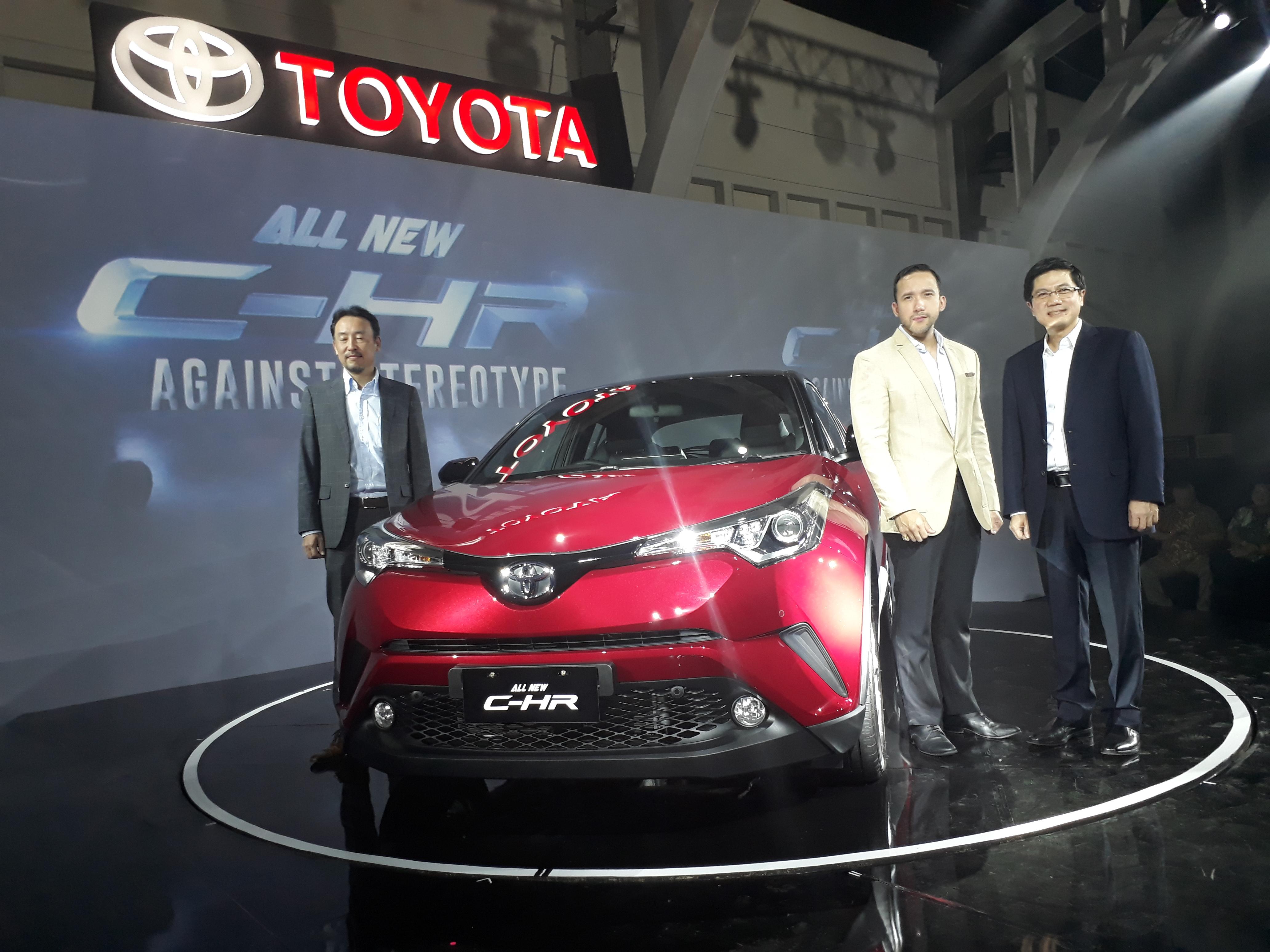 Toyota C HR Resmi Meluncur Di Indonesia Tanpa Varian Hybrid