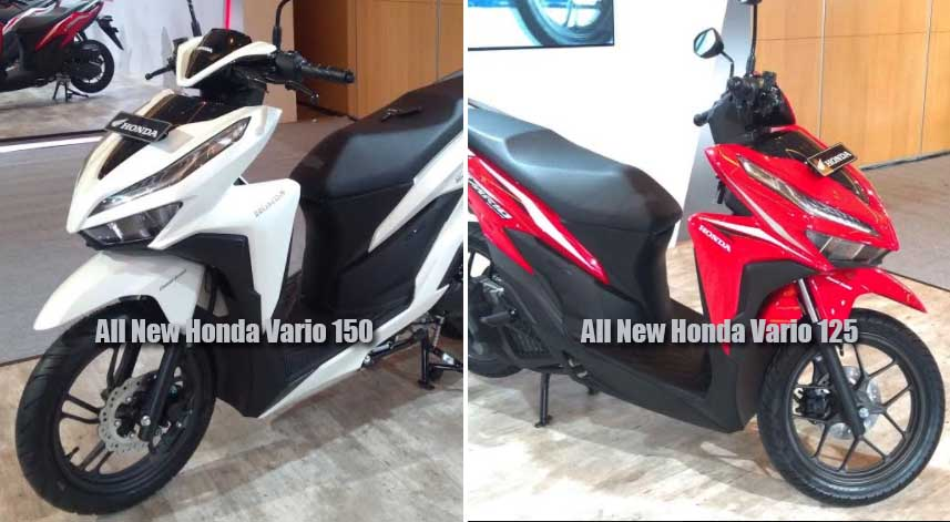 Ini Perbedaan All New Honda Vario 150 Dan All New Honda Vario 125