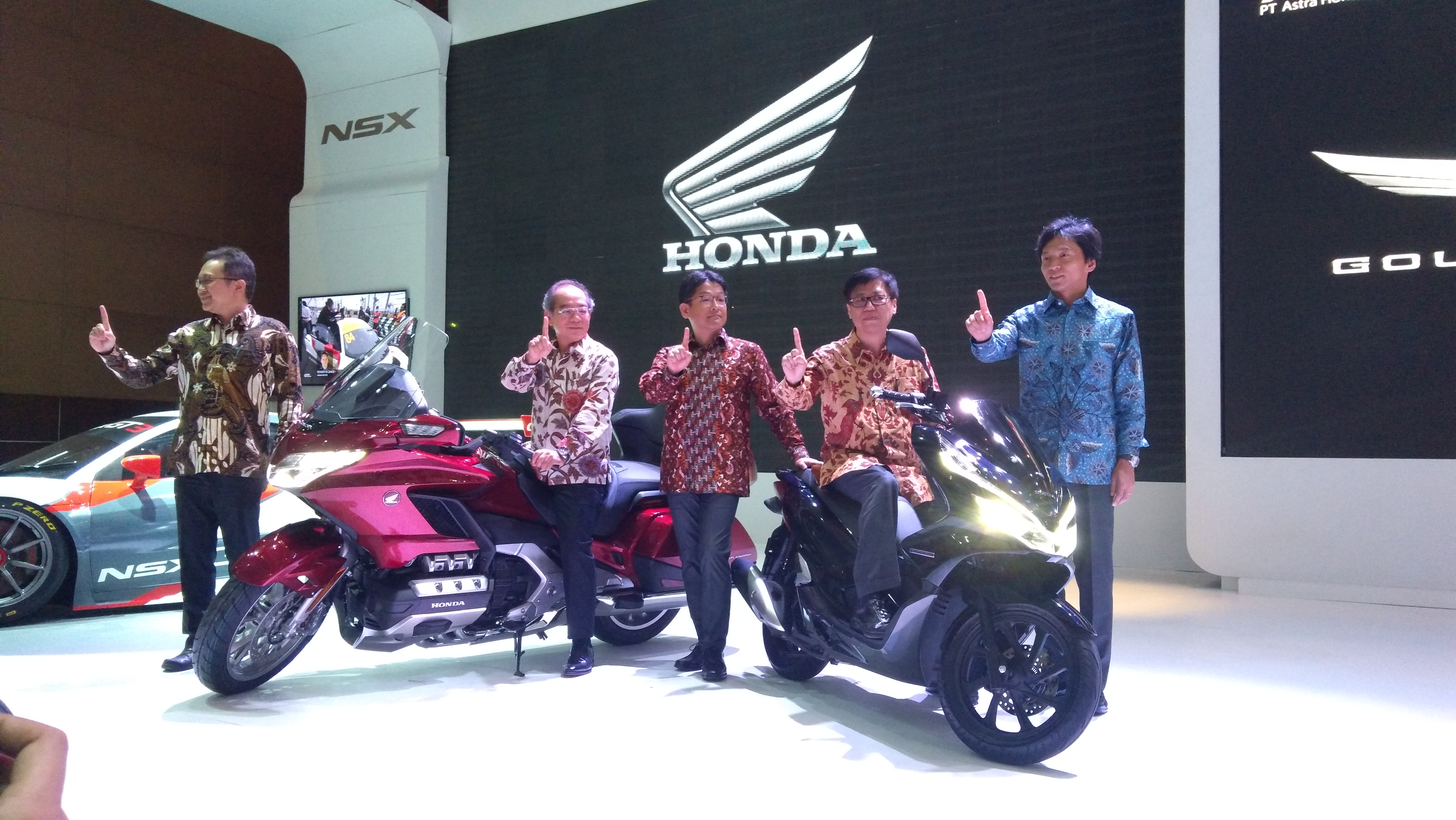 Motor Honda Bagi Bagi Diskon Besar Selama IIMS 2018