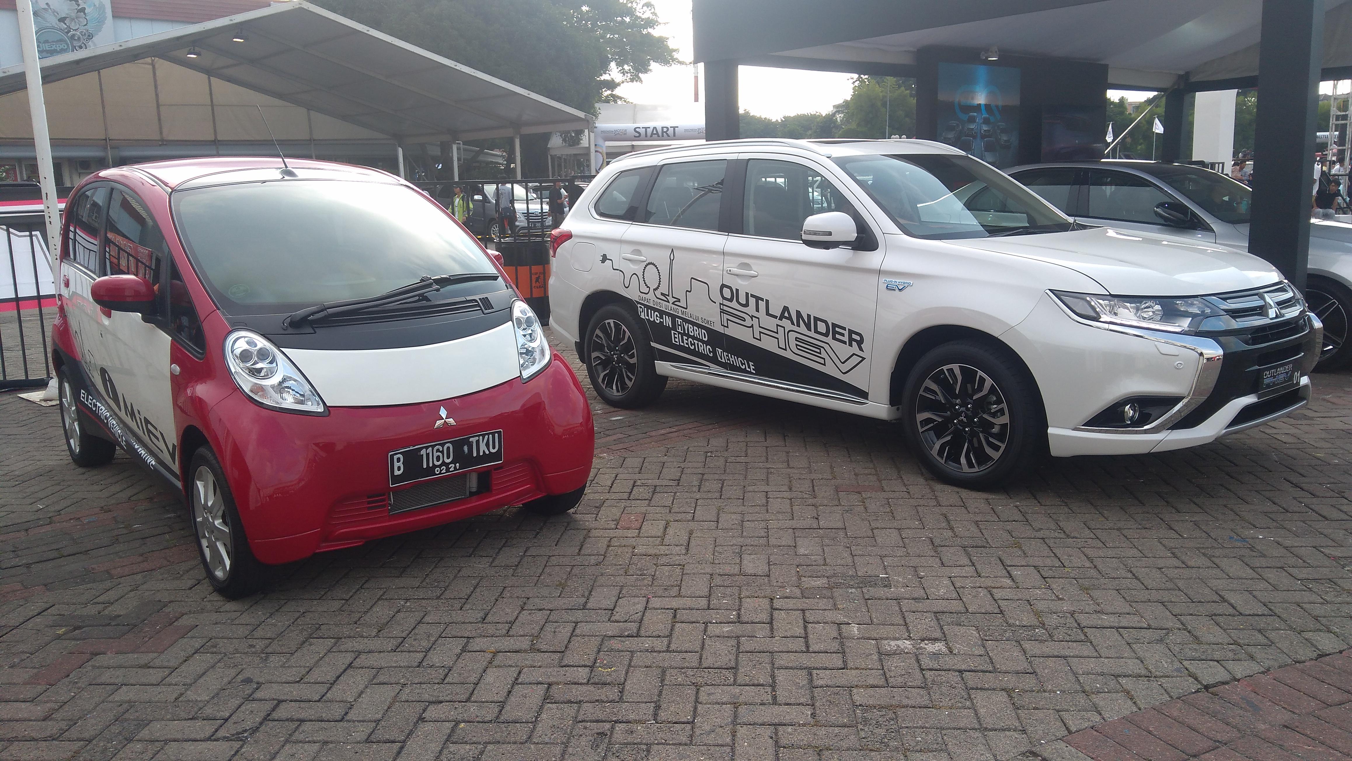 Mitsubishi I MiEV Mobil Listrik Pertama Yang Punya STNK Di Indonesia