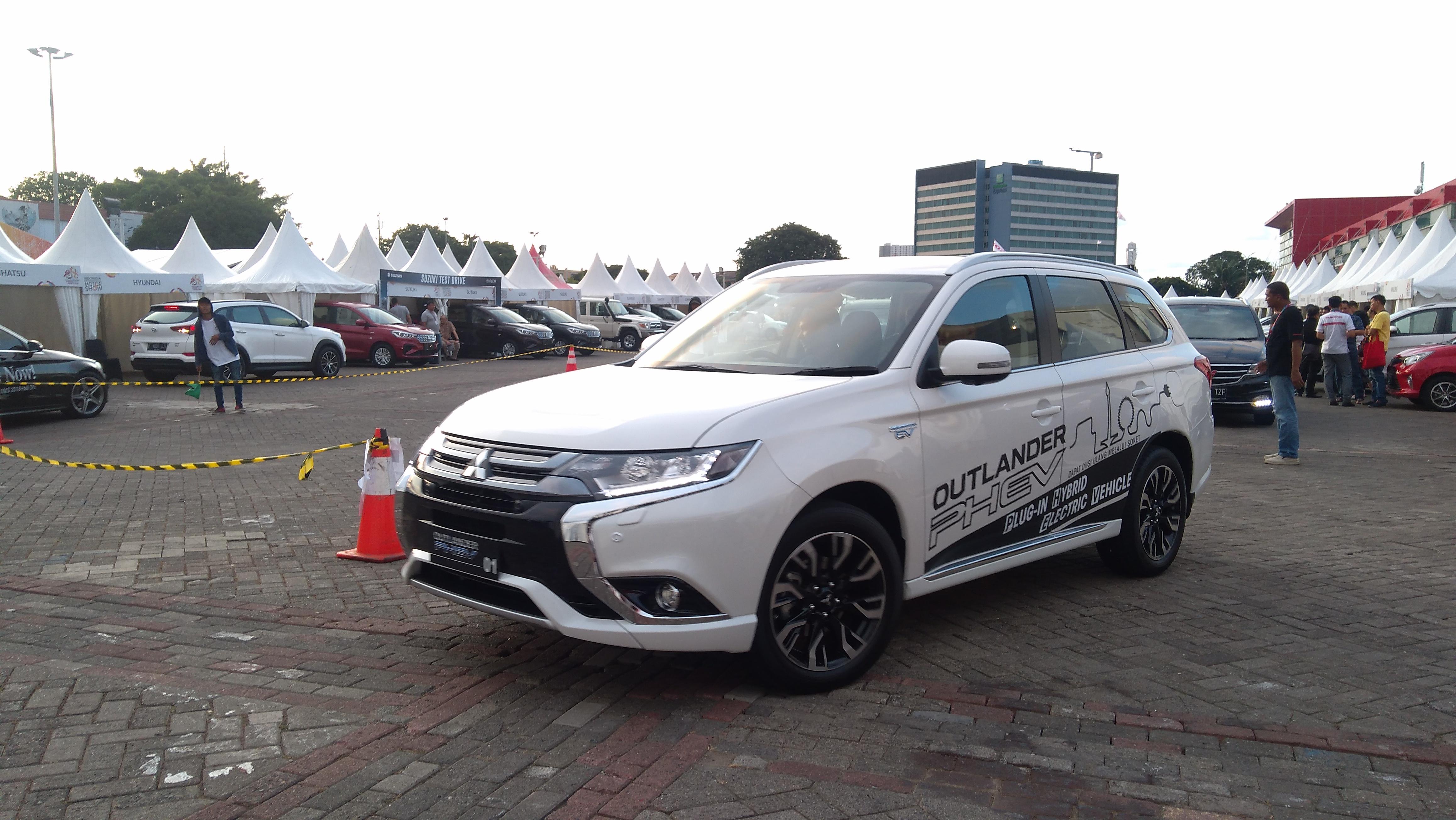 Tidak Dijual Peminat Test Drive Mobil Listrik Mitsubishi Sepi
