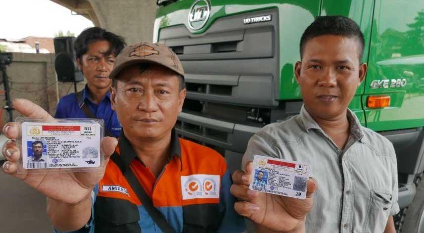 UD truck Buat SIM gratis