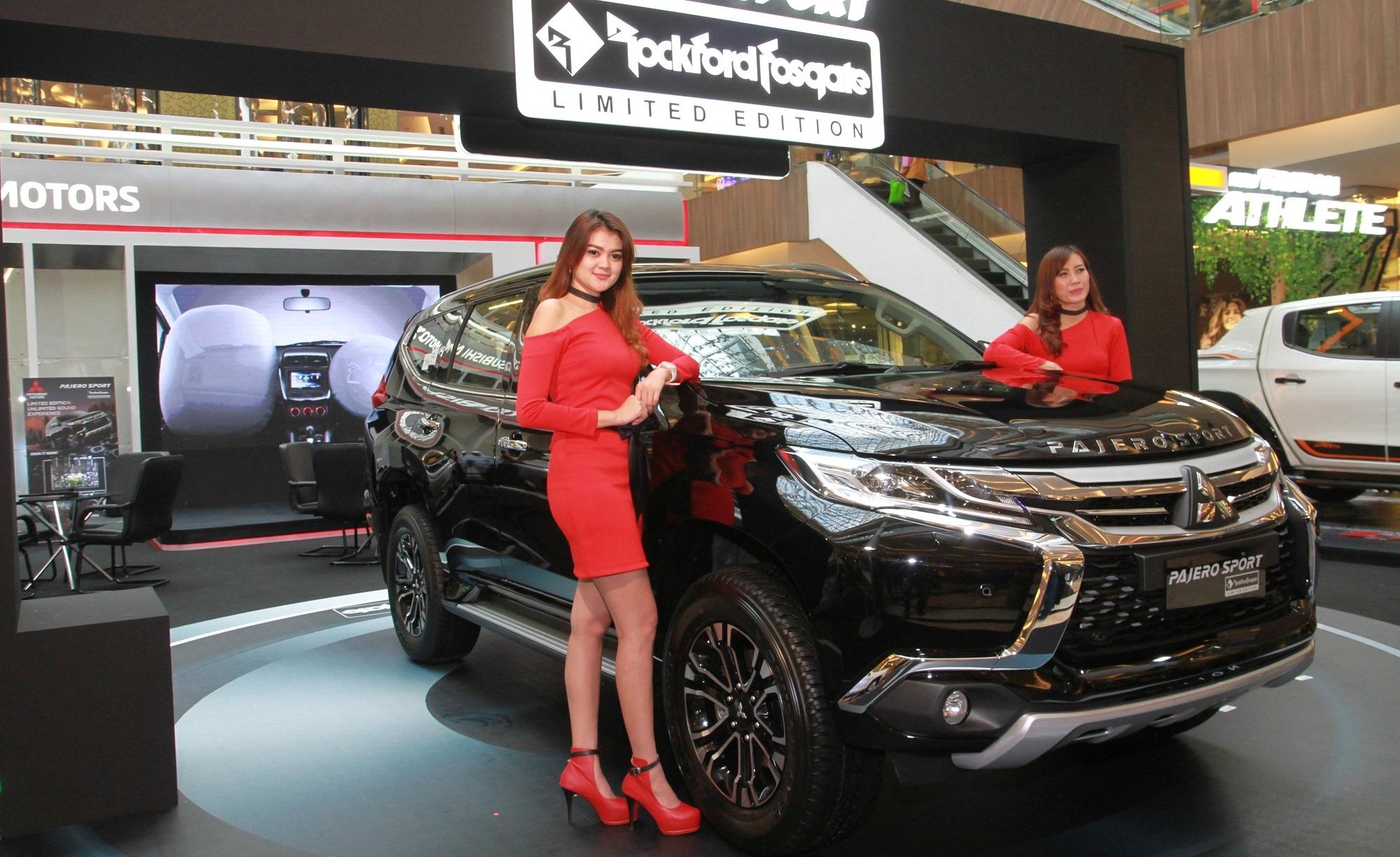 Mitsubishi Pajero Sport Rockford Fosgate  2020