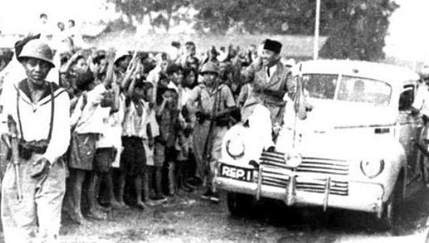 Mobil kepresidenan era Soekarno