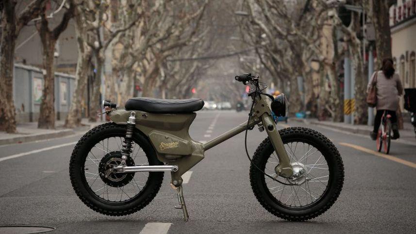 Kreatif, Modifikasi Honda Bekjul Tua Jadi Motor Listrik