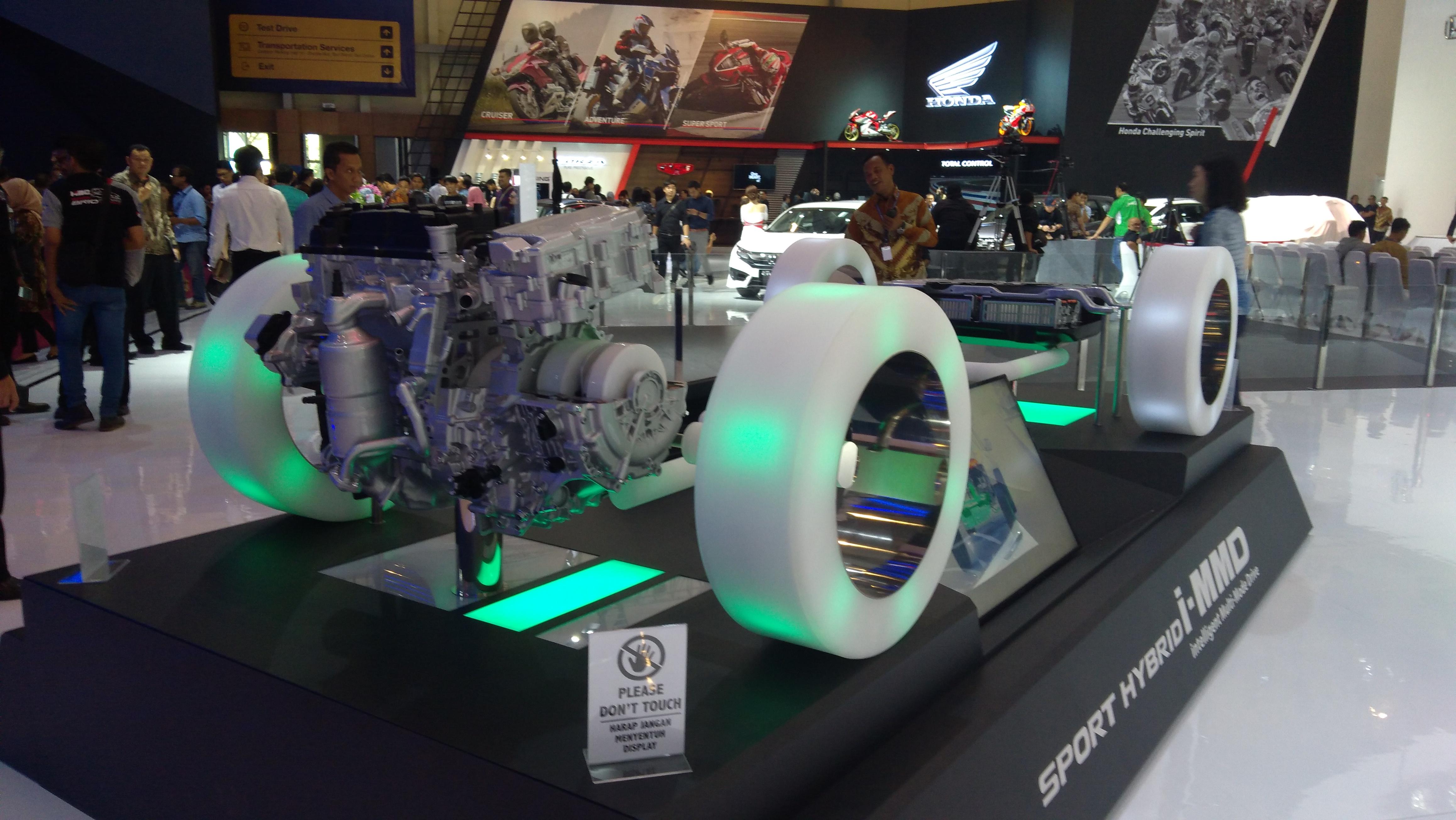 teknologi mesin hybrid i-Mmd