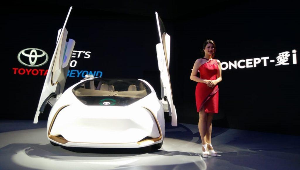mobil konsep Toyota