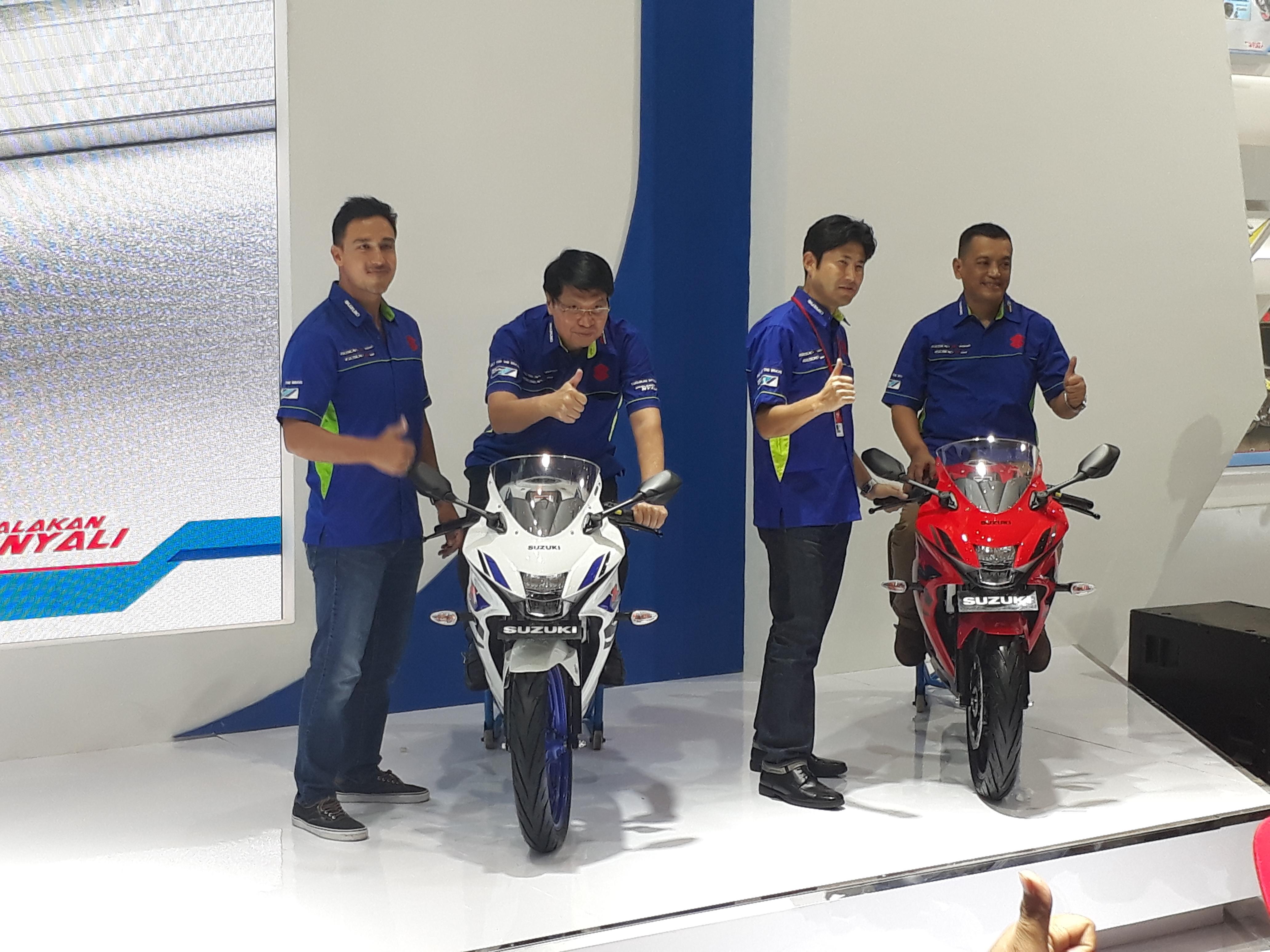 Suzuki Luncurkan GSX-R150 ABS di IMOS 2018