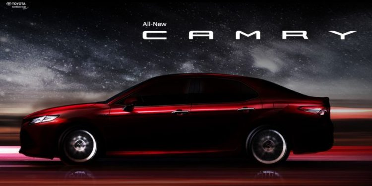 all new camry masuk indonesia