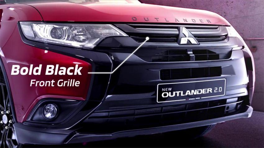 Kesudahannya Mitsubishi Segarkan Tampang Outlander, Dipasarkan Terbatas