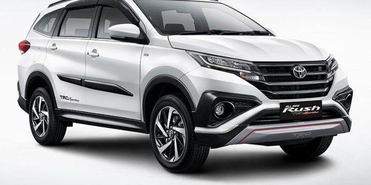 trd sportivo: Harga Toyota All New Rush Tidak Naik