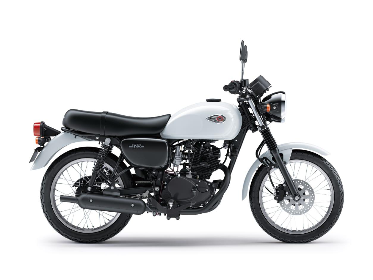 Warna Baru Kawasaki W175 Makin Berkesan Motor 'Tua'